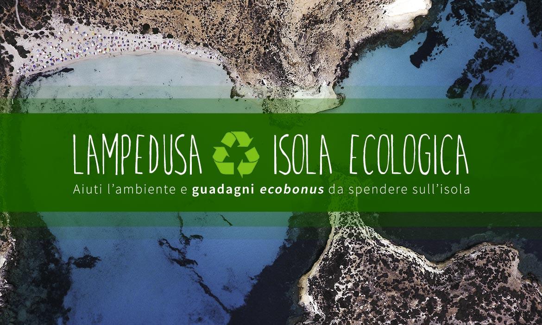 Lampedusa isola ecologica e tecnologica, dove i rifiuti valgono bonus