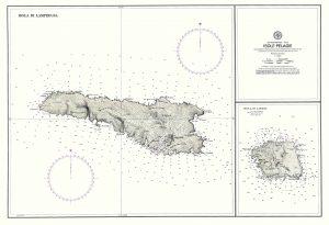 Carta nautica di Lampedusa e Linosa - Hub Turistico Lampedusa